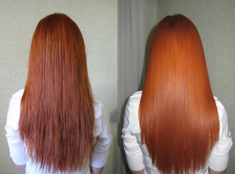 что такое желатин для волос фото нас так